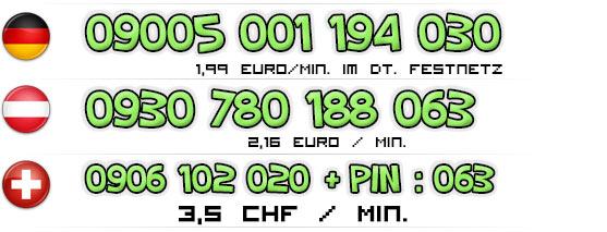 Nummern für Telefonsex mit Teens | Deutschland - Österreich - Schweiz