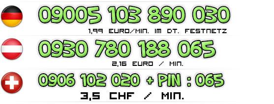 Nummern für die Telefonsex Türkin | Deutschland - Österreich - Schweiz